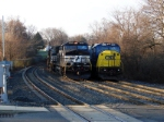 NS 9170 and CSX 8766